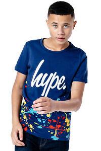 HYPE NAVY SPLAT KIDS T-SHIRT