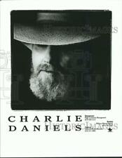 1997 Press Photo Country rocker Charlie Daniels - spp28122