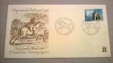 Dag van de postzegel 1976 blanco en open klep