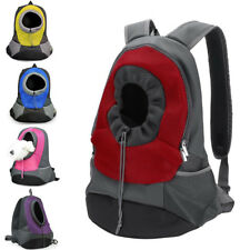 Pet Cat Dog Carrier Front Pack Puppy Travel Bag Hiking Backpack Head Out