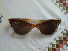 Original 50er Jahre Sonnenbrille 50's Vintage Brille BRAUN ungetragen