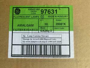 (Box of 10) GE 97631 F32TBX/835/A/ECO 32 Watt 3500K 4 Pin GX