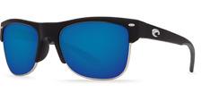 New Costa Del Mar Fishing Sunglasses PAWLEYS Black Blue Mirror 580G POLARIZE