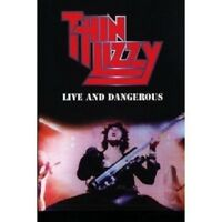 THIN LIZZY - LIVE AND DANGEROUS  DVD + CD NEU