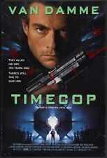 Timecop Poster 01 Metal Sign A4 12x8 Aluminium
