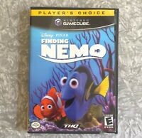 Disney's Finding Nemo Nintendo Gamecube TESTED Complete w/ Manual Fast Ship!