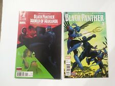 World Of Wakanda #1 & Black Panther #3 < Marvel 2016 > NM: 9.6 - 1st print