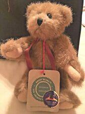 """Boyds Teddy Bear """"Wilson""""- 1990- Movable Limbs - Winner of Golden Teddy Award"""