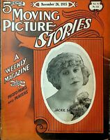 Moving Picture Stories Magazine November 26 1915 Jackie Saunders Cleo Madison