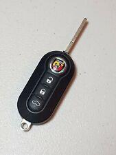 Oem Fiat Abarth Logo Remote Flip Key Keyless Entry Fob KEY FOB  LTQFI2AM433TX