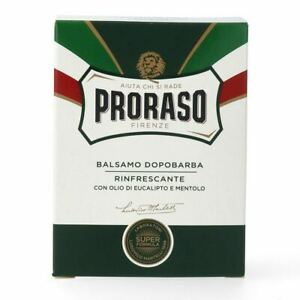 Proraso After Shave Balm, Refreshing & Toning, 3.4 fl oz