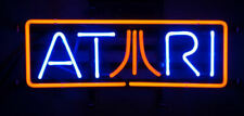 "Atari Game Room Neon Light Sign 14"" Lamp Beer Pub Real Glass Gift Decor Bar"