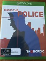 THIS IS THE POLICE XBOX ONE ORIGINAL AUS PAL VGC BRAND NEW & FACTORY SEALED