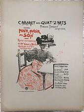 """MTL """"CABARET DES QUAT'Z'ARTS"""" 1897"""