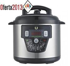 Robot de Cocina OLLA Eléctrica GM E 6 LT PROGRAMABLE FUNCION Freir Voz