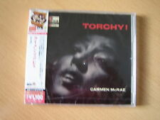 "CARMEN McRAE ""Torchy!"" Japan CD NEU"