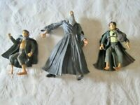 Lord of the Rings Lot ~The Fellowship of the Rings Gandalf, Pippin & Hobbit LOTR