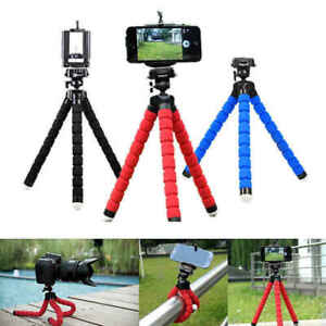 Mini Flexible Octopus Tripod Bracket Holder Mount for Cell Phone Camera iPhone