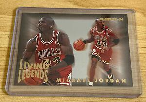 Michael Jordan 1993-94 Fleer Living Legends Iconic Chicago Bulls Insert