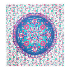 Indian Floral Bohemian Bedspread Tapestry Mandala Wall Hanging Art Deco Tapestry