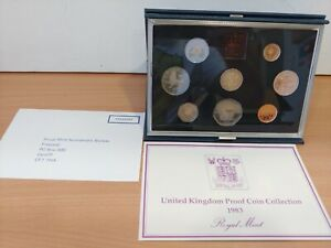 Royal Mint 1983 United Kingdom Proof Coin Collection Set  C70