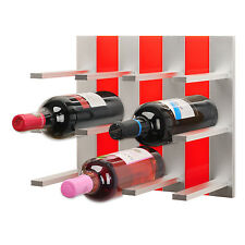 Top Wine Rack - Modular Wine Rack Wall Mounted (Red)