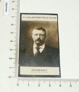 PHOTO IMAGE FELIX POTIN 2e ALBUM 1908 THEODORE ROOSEVELT PRESIDENT USA