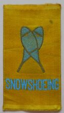 SNOWSHOEING Sports Canadian Miscellany 1910/15 Imperial Tobacco Woven Silks