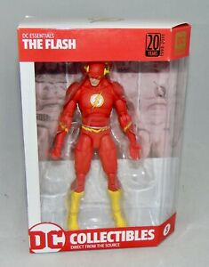 New DC Collectibles DC Essentials The Flash Action Figure Sealed 20 Years