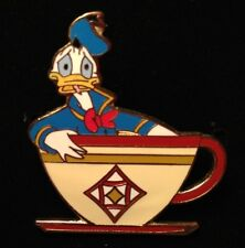 Disney Pin - Donald Duck Mad Hatter Tea Party Cup Ride Series Dlr