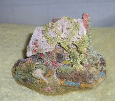 """Liliput Lane """"Forget-Me-Not"""" 1992/1993 Collectors Club Handmade In Cumbria,Uk"""