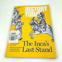 History Today Jan 2020 Vol 70 #1 The Incas Last Stand Ireland War