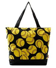 Softball Sport Canvas Purse Totebag w/attached coin bag NGIL NWT Free Shipping!