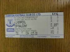 16/04/1997 Ticket: Everton v Liverpool  (complete). We try and inspect all our i