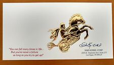 Evel Knievel War Horse card** printed discontinued!!!**