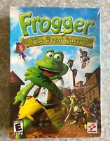 NEW Frogger The Great Quest SEALED In Box Windows PC CD-ROM Konami Games 2002