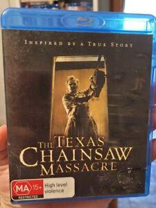 The Texas Chainsaw Massacre blu ray Rare 2003