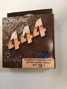 CORTLAND 444 INTERMEDIATE SHOOTING TAPER  ST12I FLY LINE