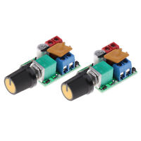 2Pcs DC 3V-35V 5A Motor PWM Speed Controller Speed Control Switch LED Dimmer
