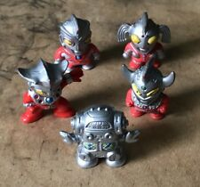 5 Various Ultraman MUSCLES Style Figures With Color!! Kaiju Garamon Pigmon