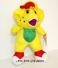 """Barney Plush BJ Toy Singing """"I Love You"""" Song 11 inches"""