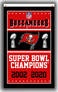 Tampa Bay Buccaneers Championships Football Team Flag 90x150cm 3x5ft Best banner