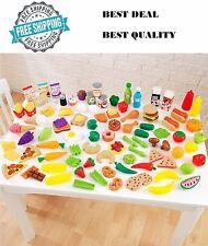 KidKraft Tasty Treats Food Toys Set Kids Pretend Play Toy Kitchen Prop Kid Gift