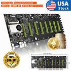 USA BTC-D37 GPU Mining Rig Machine Motherboard With CPU support 8 GPU PCIE slots