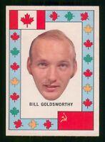 BILL GOLDSWORTHY 72-73 TEAM CANADA O-PEE-CHEE 1972-73 EX+  23741