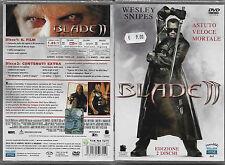 BLADE II (2002) dvd nuovo sigillato