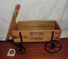 """Boyds Farm Wagon - 16"""" x 6"""" x 7"""""""