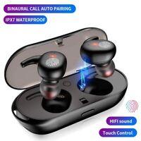 TWS Y30 Bluetooth 5.0 Earbuds Headset Wireless Headphones Earphones Charging