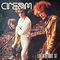 CREAM - LIVE IN DETROIT (LIM.180 GR.WHITE 2LP)  2 VINYL LP NEU