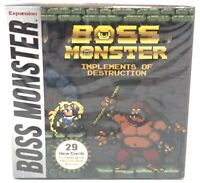 Boss Monster Implements of Destruction Expansion 29 Cards New Sealed Equipment